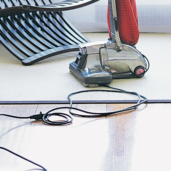 Spring interior house cleaning - vacuum