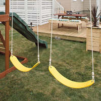 Play structure including swings