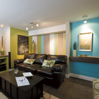 Finish the basement planning and design planning for Peinture dans une chambre adulte