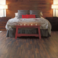 Wood floor are easy to maintain and warm.