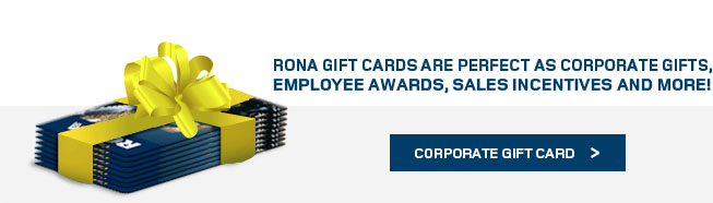 RONA Corporate Gigt cards