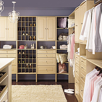 Modular storage: chic, efficient and high-quality.