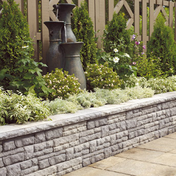 Build A Concrete Retaining Wall 1 Rona