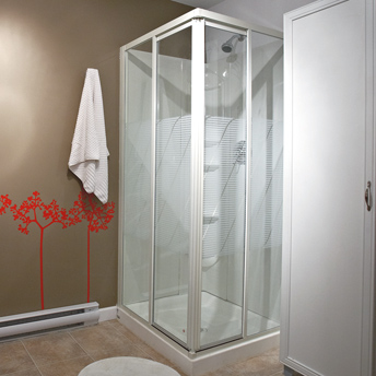 Prefabricated modular shower stalls