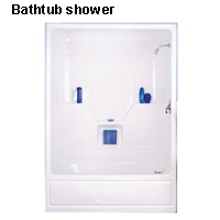 Bathtub shower