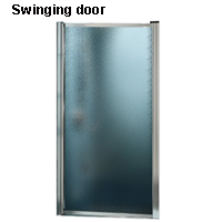 Swinging door