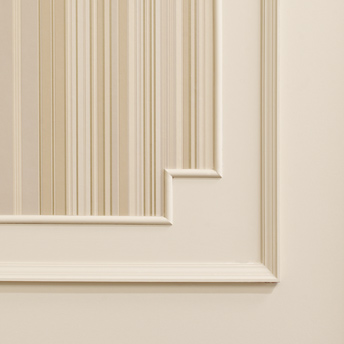 Create wall panels with mouldings