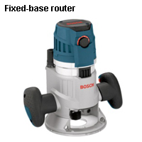 Fixed-base router