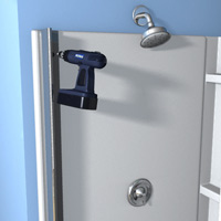 Door-jamb-shower-door