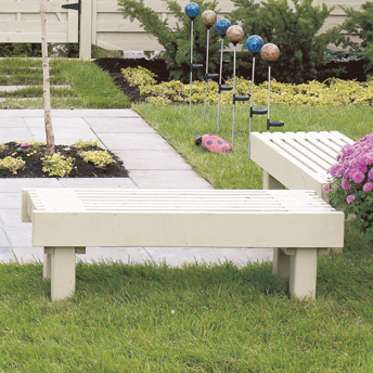 Construire un banc de jardin plans de construction rona for Plan de banc de jardin