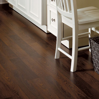 Install a laminate, engineered wood or cork floating floor