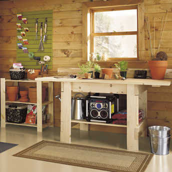 Storage Solutions For The Shed Planning Guides Rona Rona