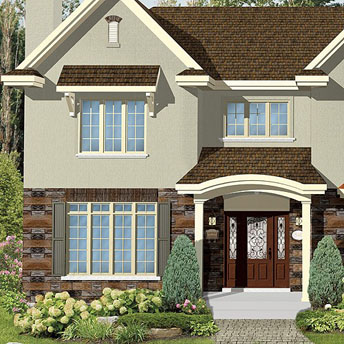 Apply stucco to an exterior wall 1 rona Home finishes