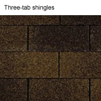 Three-tab-shingles