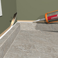 Kitchen-countertop-caulking