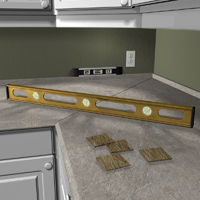 Level-kitchen-countertop-parts
