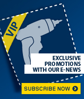 Exclusive promotion in our e-news