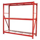 3-Shelf Industrial Rack 72
