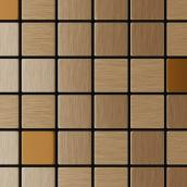Self-Adhesive Metal Tile - Copernic - Mixed Copper