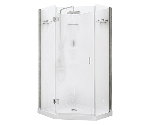 Showers Shower Doors Bases Pans, Pictures Of Shower Stalls With Glass Doors