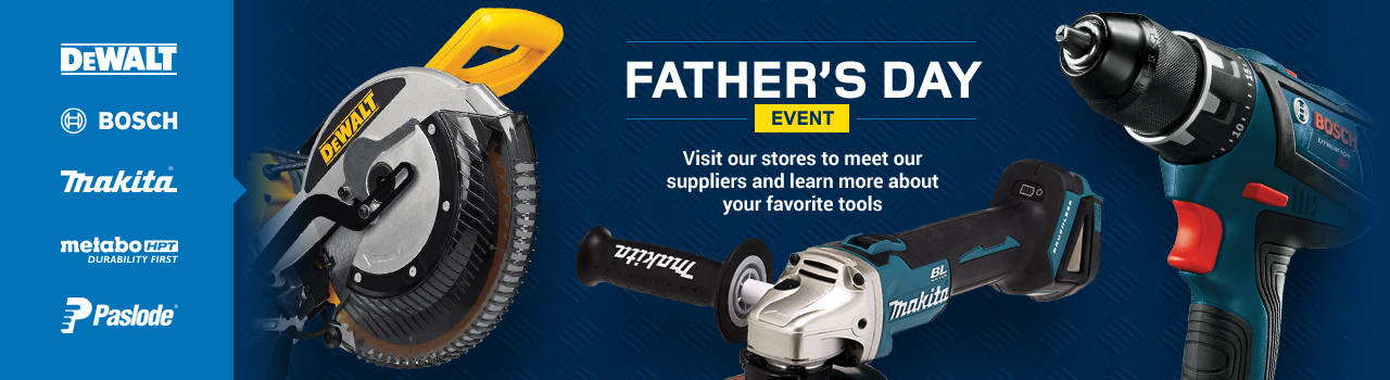 Visit our stores to meet our suppliers and learn more about your favorite tools