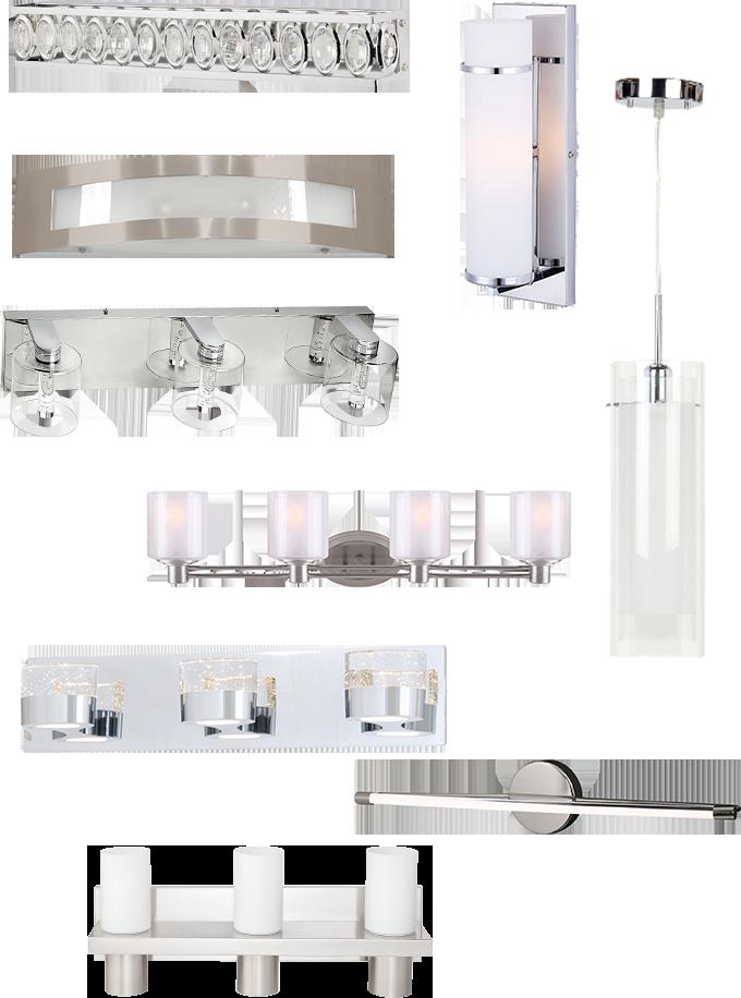 inspiration salle de bains luminaires rona. Black Bedroom Furniture Sets. Home Design Ideas