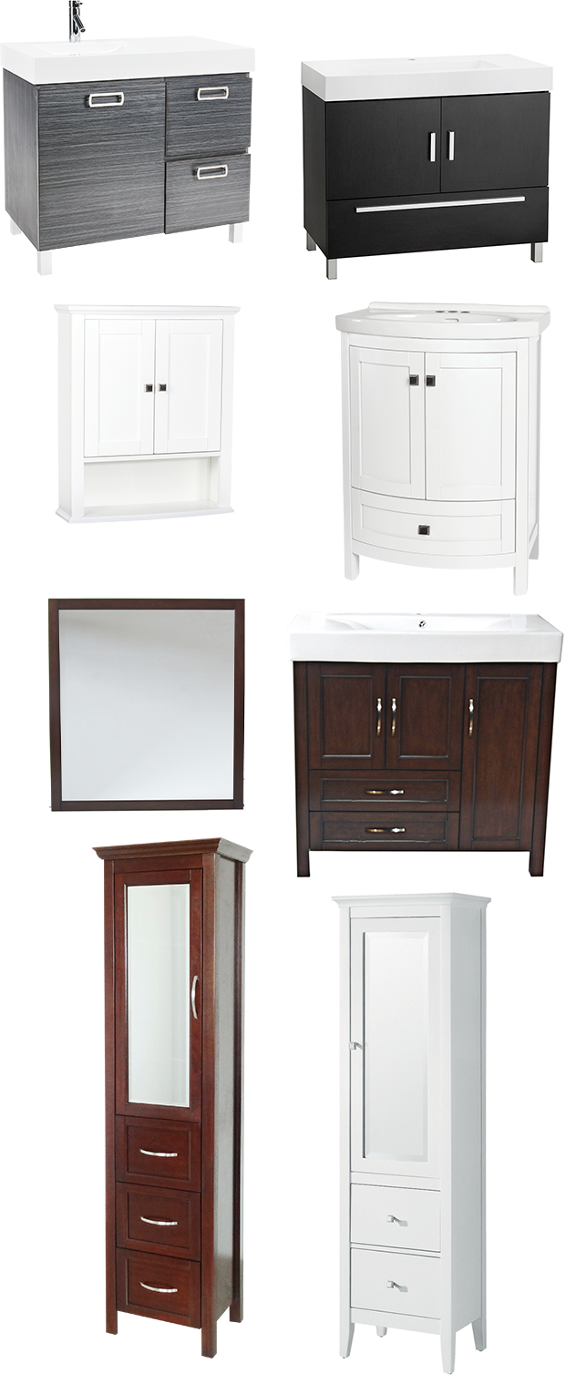 Bathroom Inspiration - Vanities and cabinets | RONA