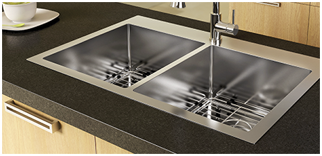 fitting an undermount kitchen sink in a granite or stone countertop is a project that can be done yourself although certain precautions must be taken due - Rona Kitchen Sink