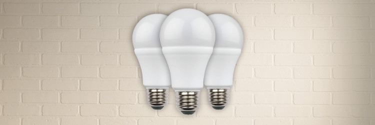 40% off A19 LED bulbs in packs of 6
