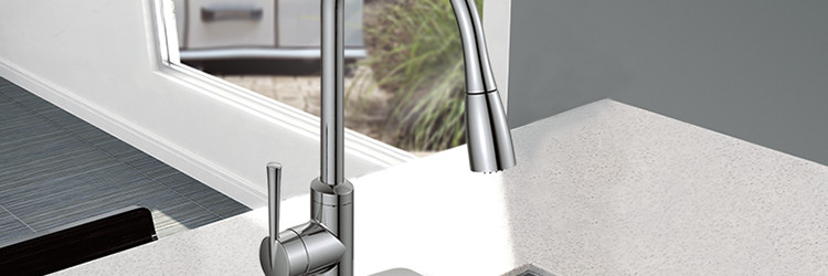 Save on ALL pull-out kitchen faucets