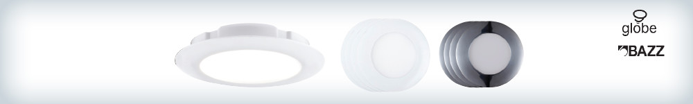 Save on ALL GLOBE and BAZZ thin recessed fixtures