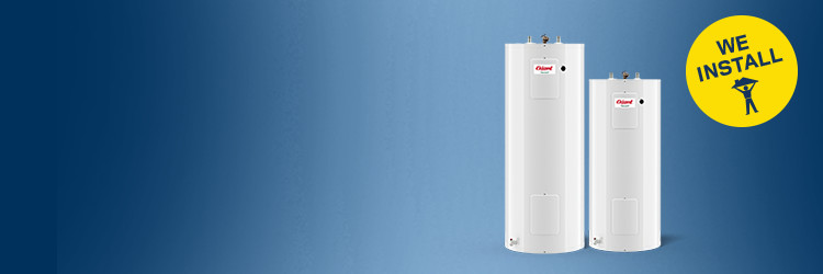 Save on select water heaters