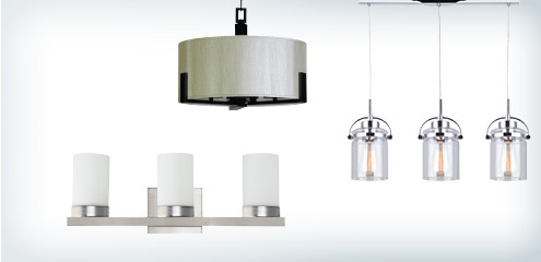 Save on select light fixtures