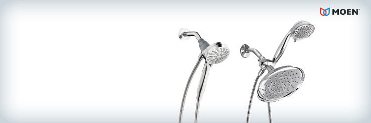 Save on ALL MOEN hand showers