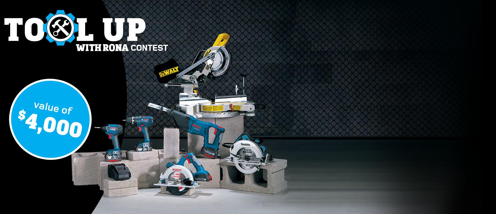 toolup contest rona