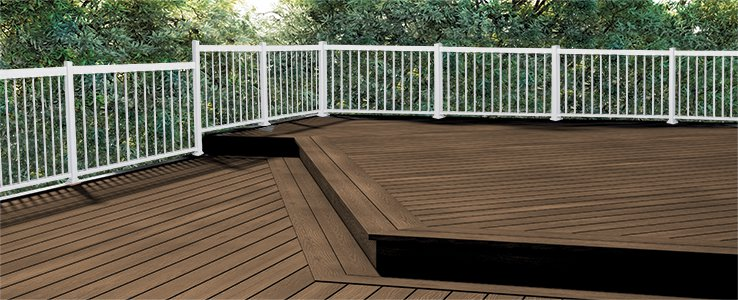 Paint the deck or another outdoor wood structure   RONA