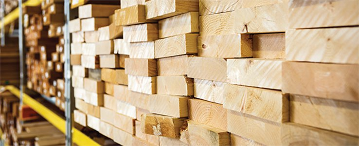 Our building materials selection
