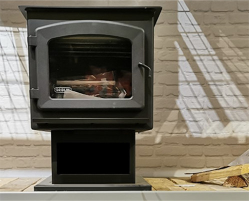 Showroom of Wood Stoves