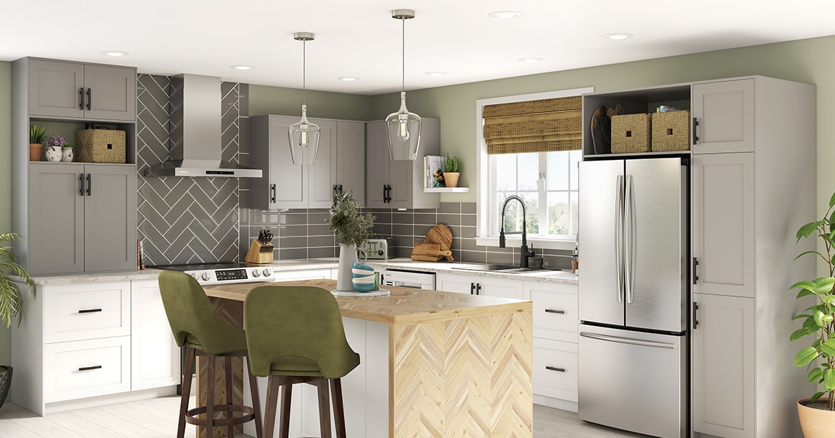 Refined kitchen