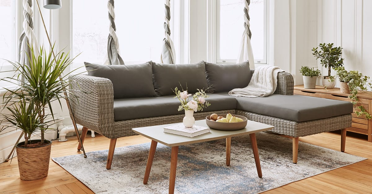 A <b>Scandinavian</b> living room