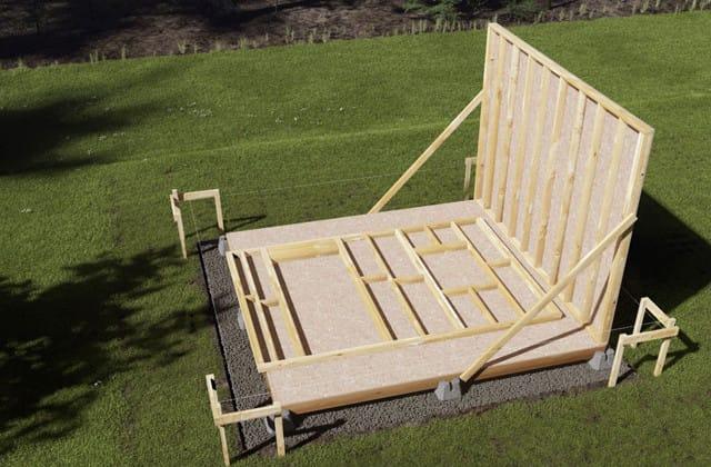Construire une remise de jardin | RONA