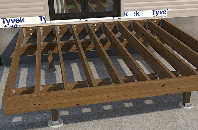 Build a one-level deck | RONA