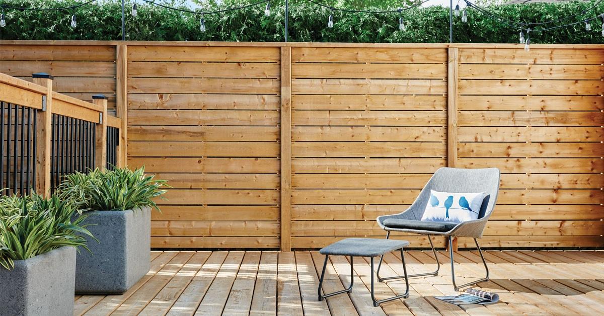 Construire Une Terrasse Surélevée à 1 Palier Rona