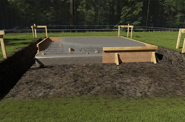 How to build a solid foundation for your storage shed | RONA