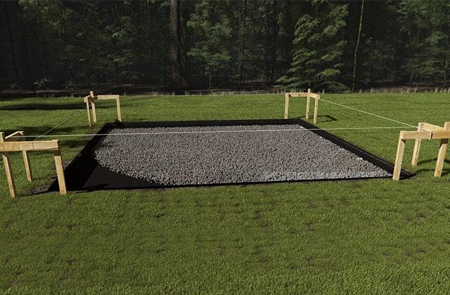 Installation sur dalle ou plots ?, abris de jardin et pièces de vie ...