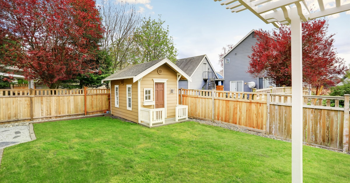 Plan a Backyard Storage Shed