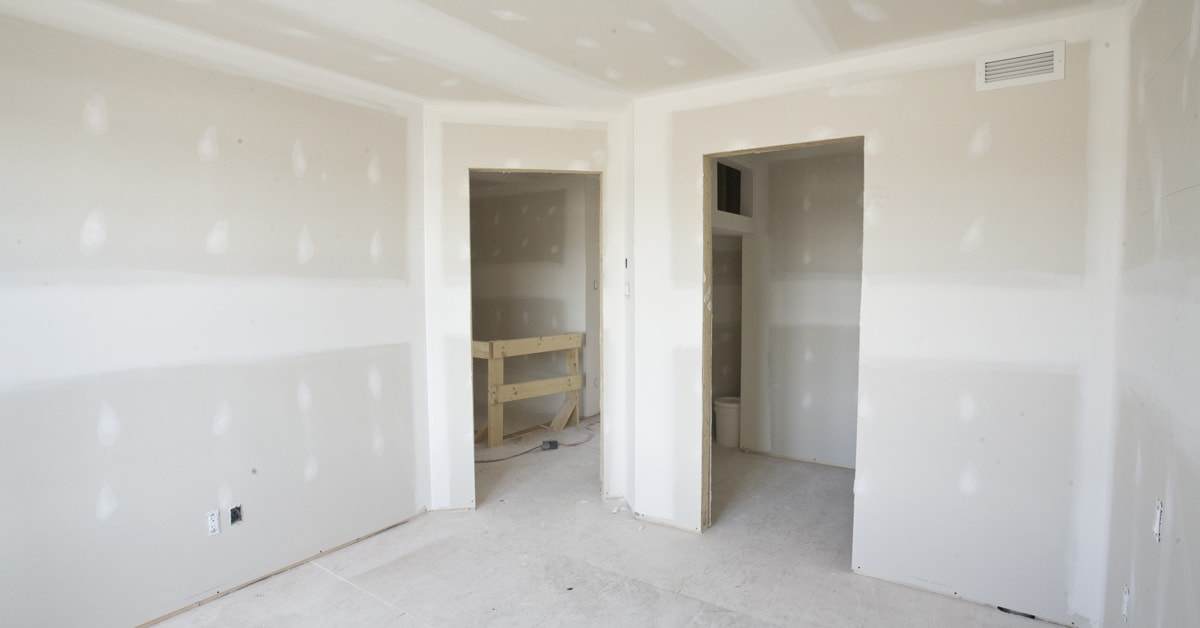 Finish drywall joints