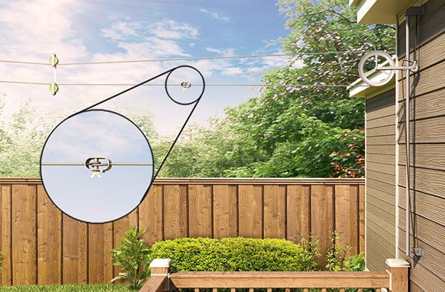 Install A Post And Clothesline Rona