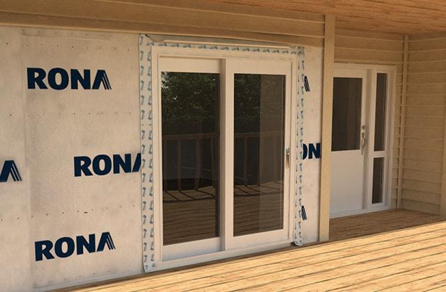 Installer Une Porte Patio Coulissante Rona