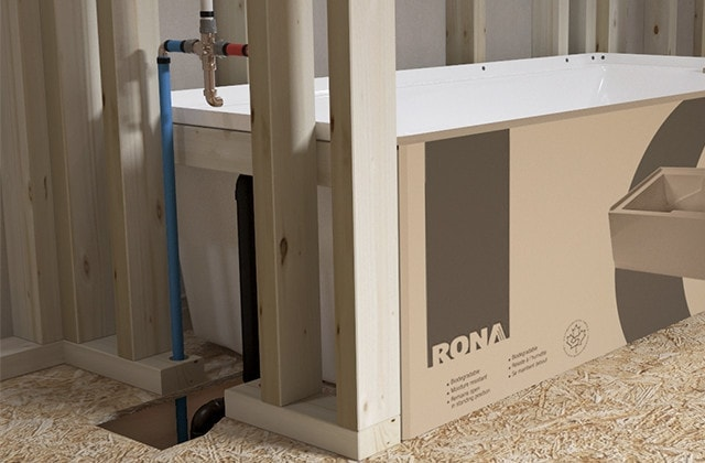 Install a tub and shower: new construction | RONA
